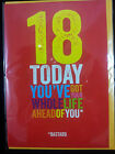 Funny rude BIRTHDAY AGE Card 18 21 30 40 50 60 70 80 Adult humour Naughty NEW