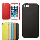 Luxury Slim Fashion Genuine Leather Case Back Cover For Apple iphone 5S/5 Tide