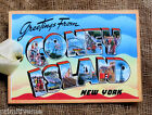 Hang Tags GREETINGS FROM CONEY ISLAND SOUVENIR POSTCARD TAGS #G 8  Gift Tags