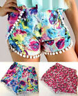 New Sexy Women Shorts Floral Printed Colorful Oil Painting Hot Pants Short Jeans