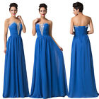 Homecoming Prom Banquet Cocktail Party Evening Bridesmaid Ballgown Wedding Dress