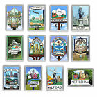 Lincolnshire Town Sign Fridge Magnets