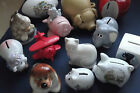 COLLECTABLE MONEY BOXES - CERAMIC animals and others   chose from drop-down menu