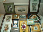 COLLECTABLE WALL PLAQUES & PICTURES Cash, Staffs    chose from drop-down menu