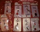 Crystal Dangle 316L Surgical Steel Navel Belly Bar ♥ FREE NAVEL BAR ♥ FREE P&P
