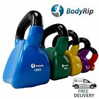 BodyRip VINYL KETTLEBELL KETTLE BELLS BODY TONE STRENGTH TRAINING GYM WORKOUT