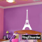 Paris Eiffle Tower Vinyl Wall Decal Or Car Sticker - valentinesdayba020EY