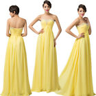 Strapless Sweetheart Long Evening Prom Party Dress Bridal Formal Gown Lace up GK