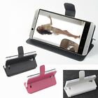 """Brand New Leather Folio Case Cover Skin For 4.7"""" Cubot One Smartphone LR"""