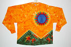 Adult L/S TIE DYE Scarlet Fire T-Shirt Grateful Dead hippie art Sm Med Lg XL 420