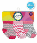NEW Jefferies Pink Chevron 3 Pk Socks  Newborn or Infant