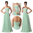 GK Long Quinceanera Wedding Evening Formal Party Ball Gown Prom Bridesmaid Dress