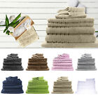 Bulk Save 12 Towels Set 620GSM Premium Quality Pure Cotton Commercial White