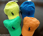 NWT Ralph Lauren Polo Boys Classic Chino Big Pony Hat Cap Fits 2t 3t 4t NEW 3d