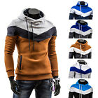 Fashion Mens Personality hit color design Jacket Coat Hoodie