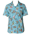 VANS ALOHA FRIDAY SHIRT S/S TURQUIOSE PRINT 50% OFF NOW 24.99