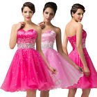 HOT SEXY Mini Ball Gown Homecoming Bridesmaid Dance Cocktail Prom Evening Dress