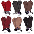 Winter Gloves Genuine Leather Thinsulate Insulation lined Gloves For Womens