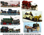 OO Scale Model Kits Horse Drawn Vehicles / Carts / Wagons /Coaches
