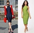 Women Sexy Fashion Slim Structured Bandage Rippled Bodycon Evening Party Dress