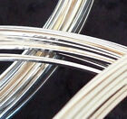 5' Sterling Silver-Filled Square Dead Soft Wire 10 12 14 16 18 20 21 22 Gauge GA