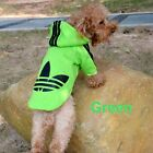 New Fashion Dog Puppy Clothes Hoodie Sweater Costumes Coat Soft Cotton PD007