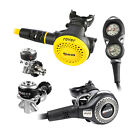 MARES REGULATOR ABYSS 22 + OCTOPUS PRESTIGE + CONSOLE MISSION 2  02UK