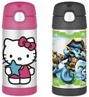NEW Thermos Funtainer Bottle - Hello Kitty / Skylanders (12 OZ)