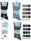 6 Mens No Non Elastic 100% Cotton Loose Wider Top Socks / UK 6-11