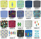 Lampshades Ideal To Match Children`s Robots Wallpaper & Childrens Robots Duvets