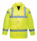 hi viz waterproof jacket, printed Recover on back, doormen, security jackets new