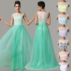 Hot sale Long Tulle Evening Gown Bridesmaid Ball Homecoming Cocktail Party Dress