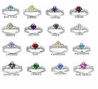 925 Sterling Silver Grade +AAA CZ Irish Heart Claddagh Ring PREMIUM BEST QUALIT