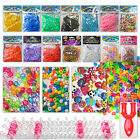 Loom bands weaving boards tools c clips charms beads fishtail 300 600