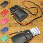 """PU Leather Lady Pouch Sports Wallet Bag Case Cover For Up To 6"""" Mobile Phone"""