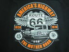 HOT ROD RAT ROD ROUTE 66 5 WINDOW COUPE LOWBOY MOTHER ROAD T SHIRT