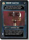Star Wars CCG: Premiere Black or White Border, WED-1662 Treadwell Droid R2 Rare