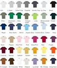 NEW HANES MENS Tag free BEEFY-T 100% PRESHRUNK COTTON T-SHIRT 30 Colors  B-5180