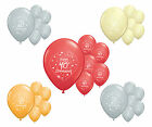 10 WEDDING 25th, 30th, 40th, 50th, 60th ANNIVERSARY HELIUM QUALITY BALLOONS (PA)