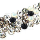 144 Swarovski 2058/2088 crystal flatbacks rhinestones BLACK & WHITE Colors Mix