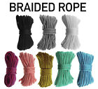 Braided polypropylene poly rope cord yacht boat sailing climbing 4mm 6mm 8mm