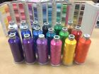 MADEIRA Embroidery machine thread Poly Cotton 5000m cone NEW various colours