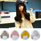 New Women Girls Winter Warm Ear Snow Ski Cap Crochet Knit Baggy Beanie Hat