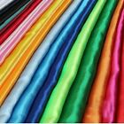 "10 Yards 60"" Satin Fabric Draping Chair Sash Bows Table Cloths Runner Overlays"