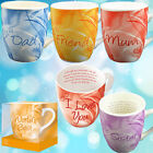 CERAMIC MUG GIFT BOX SET WITH POEM MUGS XMAS CUP MESSAGE TEA COFFEE FINE CHINA