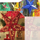 New 30cm/45cm/60cm Star Lantern Lampshade Hanging Home Xmas Christmas Decor 4pcs