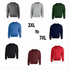 Sweatshirt Sweat Shirt Jumper 3xl 4xl 5xl 6xl & 7xl plus size Sweater Fleece