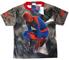 New THE AMAZING SPIDERMAN Boys vibrant summer t-shirt Sz XS-L Age 4-7y Free Ship