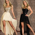 Women's Sexy Fashion Sequin Dress Strapless Club Party Evening Cocktail Dresses