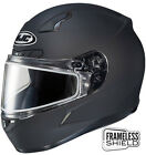 HJC CL-17 Snow Helmet Matte Black Electric Shield And Cord